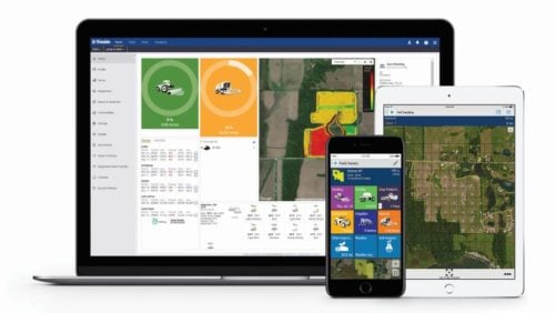 Trimble is consolidating three of its agriculture software products — Connected Farm, Farm Works Software and Agri-Data solutions — into one farm data management platform: Trimble Ag Software.