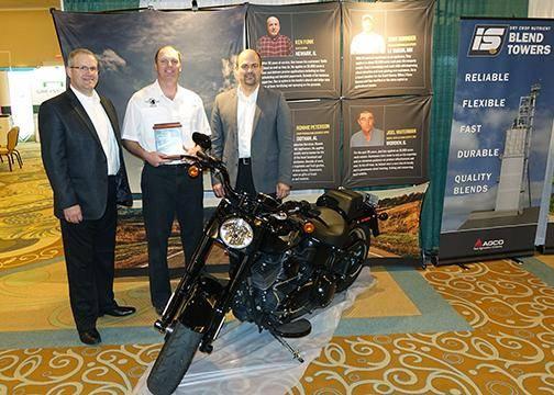 AGCO Operator of the Year Tony Kornder
