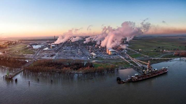 CF Industries Donaldsonville plant
