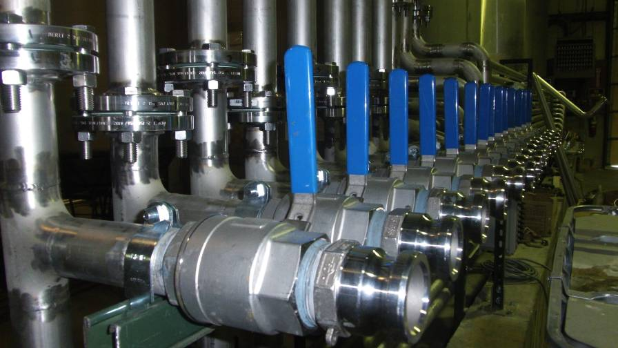 Illinois Oil Marketing Equipment tanks and plumbing for plants