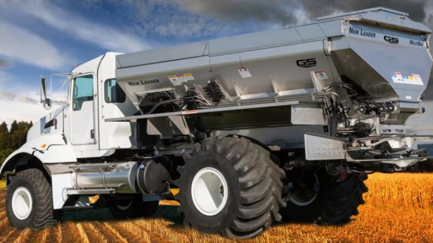 New Leader Introduces NL5000 Dry Nutrient Applicator With G5 Technology