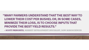 Reduce the cost of early season weeds