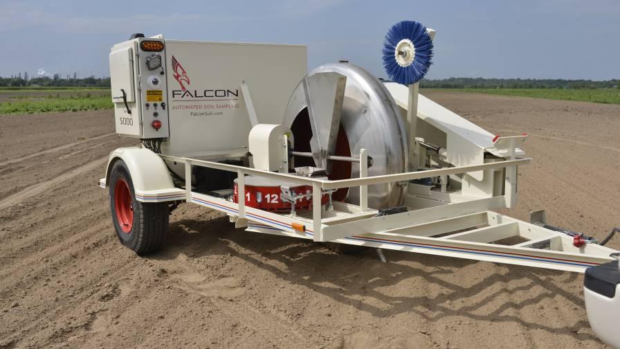 Falcon soil sampler