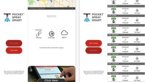 Agrible Pocket Spray Smart App