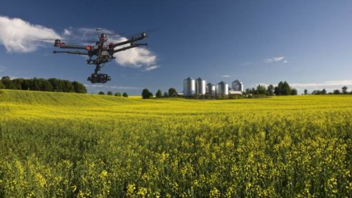Farming drone air