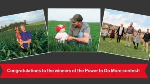 Dow AgroSciences Announces Three Winners in Power to Do More Contest