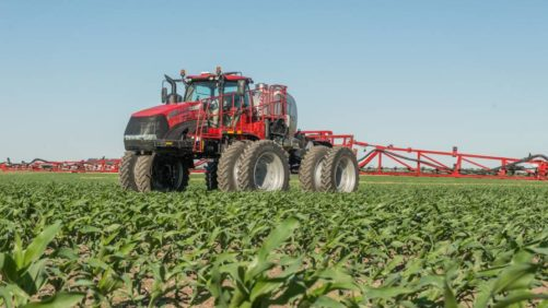 Case IH Trident 5550 liquid/dry combination applicator