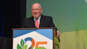 Perdue Encourages Ag Retailers to Get Engaged in Legislation, Regulation